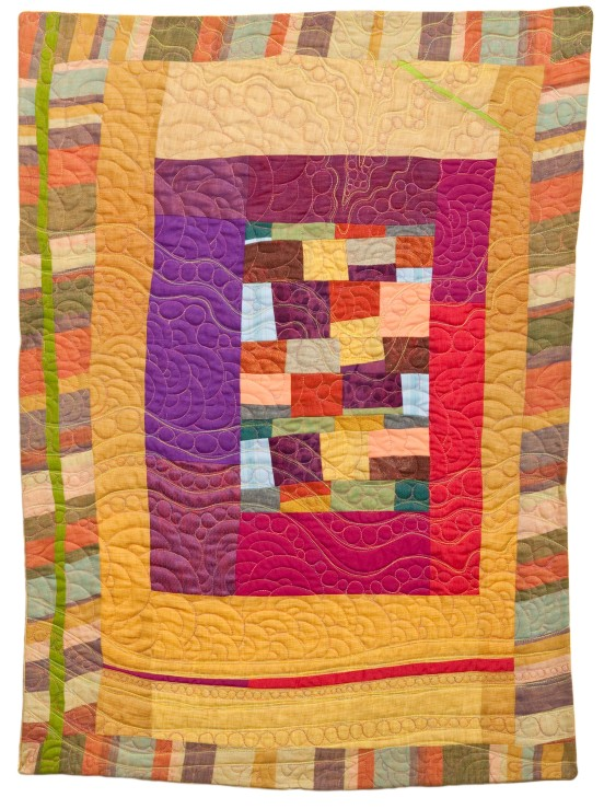 Designed and Pieced by Tierney Davis Hogan.  Quilted by Betty Anne Guadalupe. Photography by Jeremy Koons.
