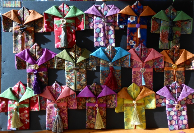 The mini kimono collection by Tierney Hogan