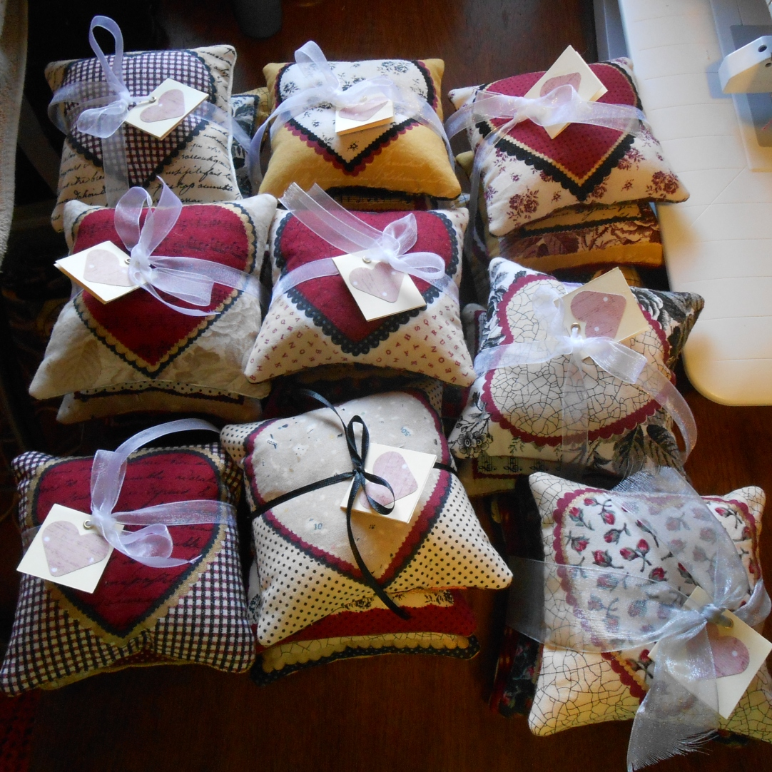 Little Love Note Pillows