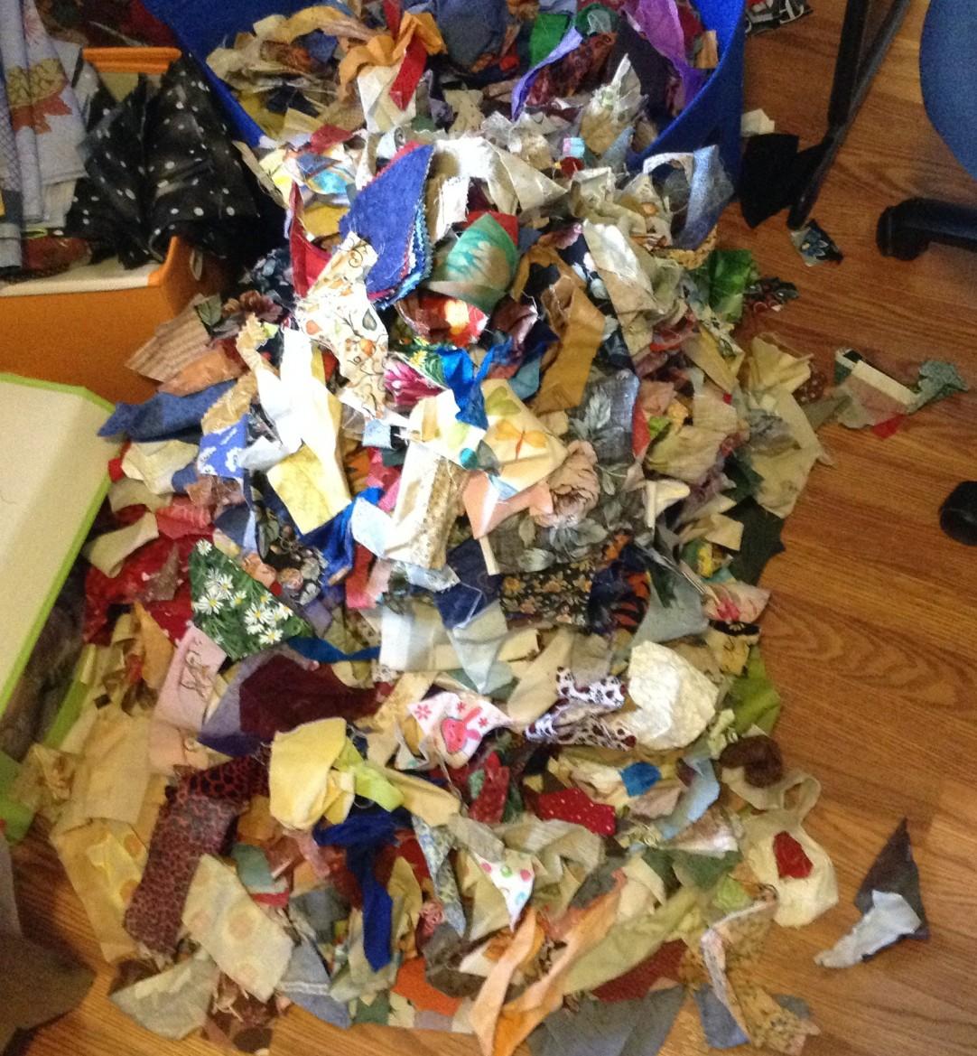 oh crap so many scraps
