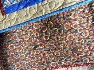 Quilt flannel back