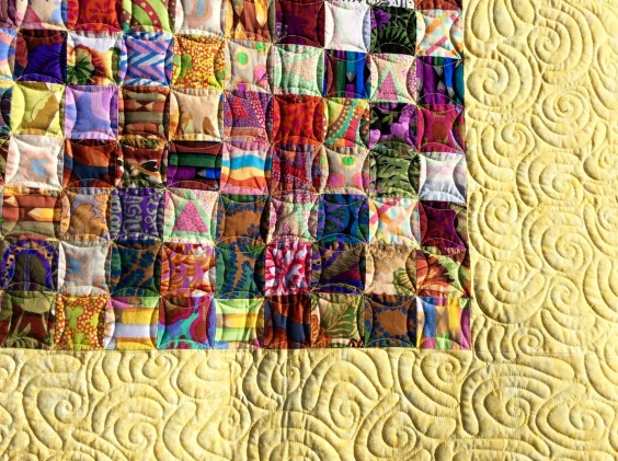 Designed by Tierney Hogan, pieced by Terry Hogan, quilted by Betty Anne Guadalupe