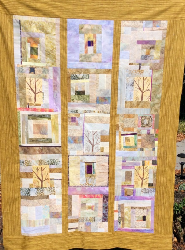 Quilt Top completed on The Tree Outside My Window