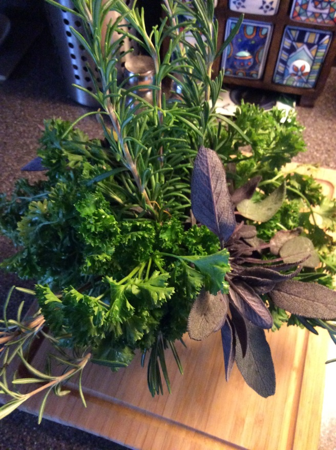 Parley, Sage, Rosemary...but no Thyme (but we could still head to the imaginary Scarborough Fair!)