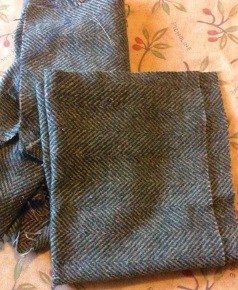 Recycled Tweed Wool Jumper