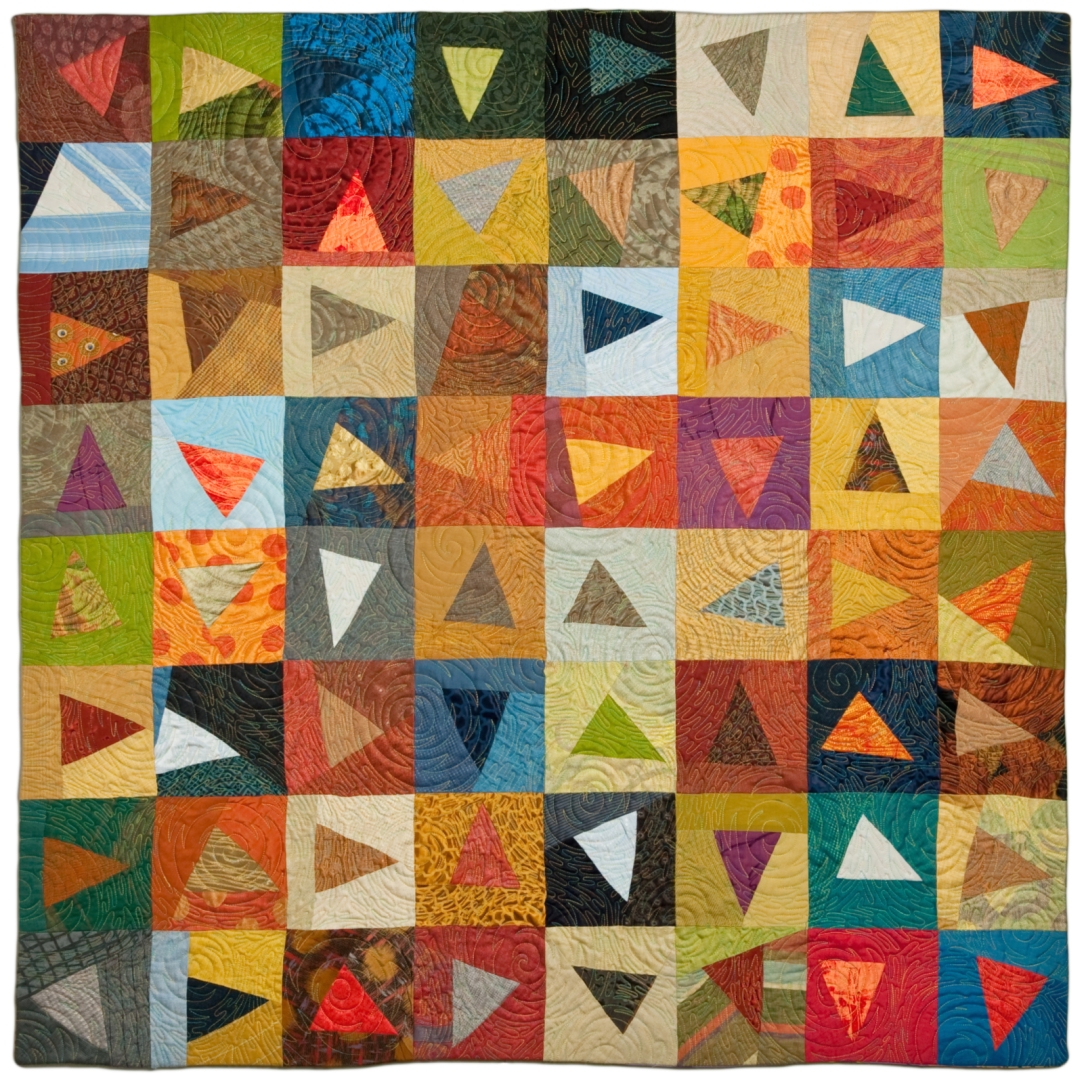 Color Study 1: Reflections of Flying Triangles (2012)