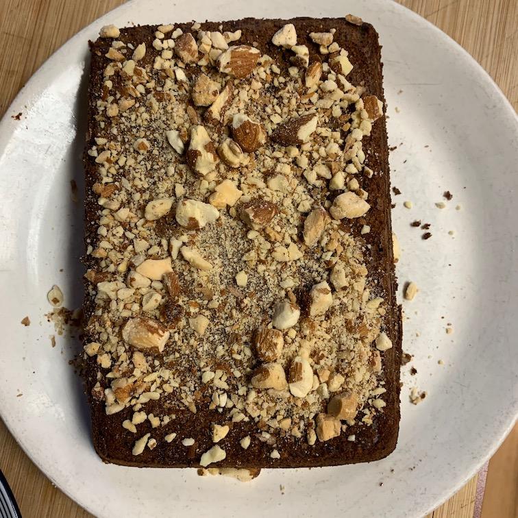 #27, almond chocolate torte