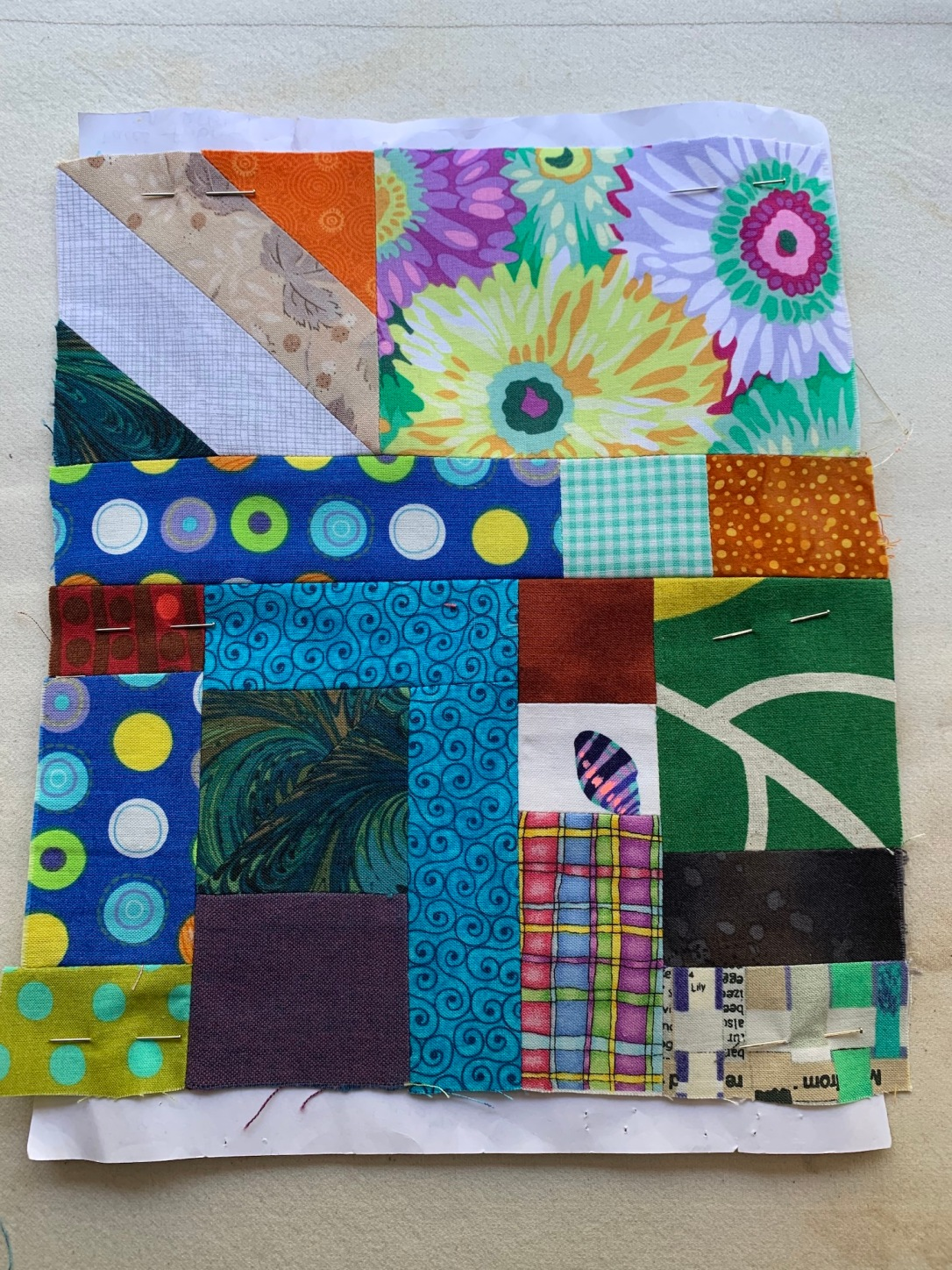 #6B finished block