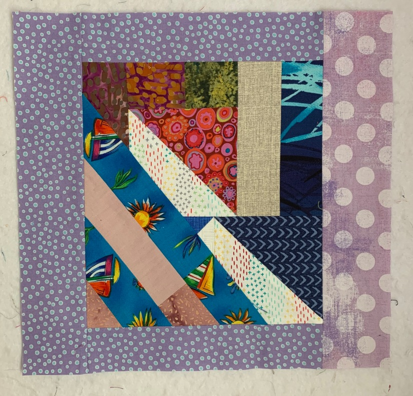 #7, end border strip for _A_ blocks